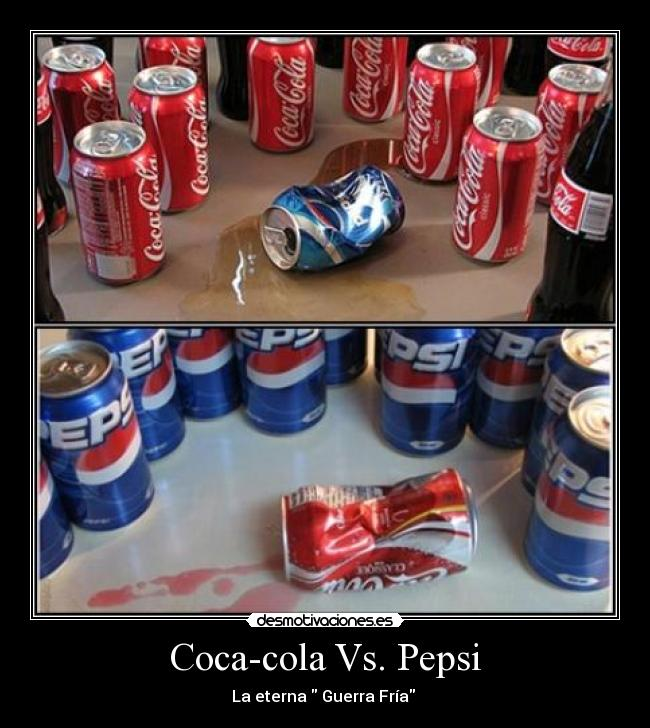 pepsi co vs coca cola Why pepsi has the edge while coca-cola has vowed to rebuild sales in the united states and focus on international sales.