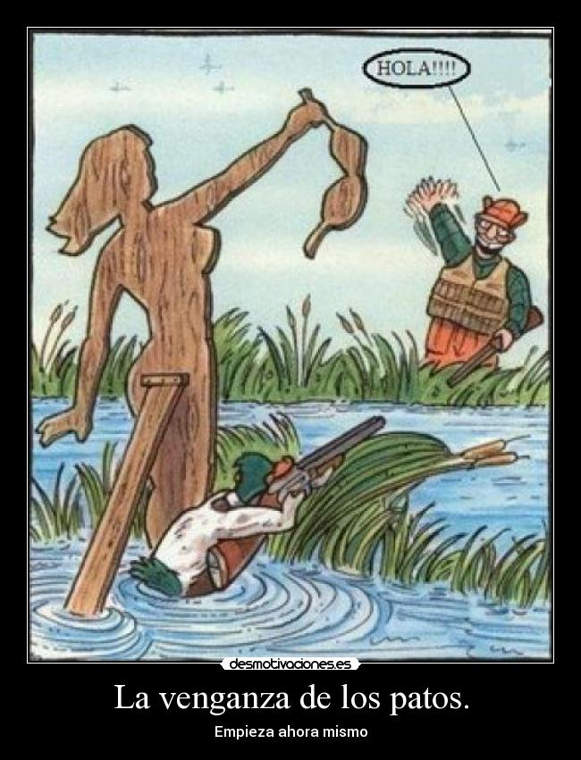 carteles patos desmotivaciones