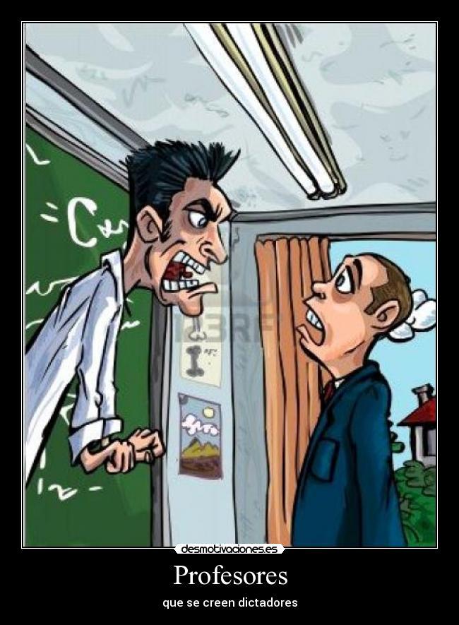 Carteles y Desmotivaciones de profesores