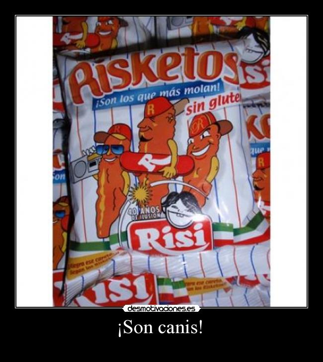 ¡Son canis!  -