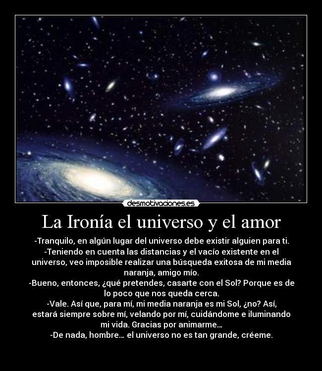 Sexo y el universo