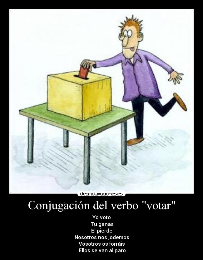 verbo conjugacion: