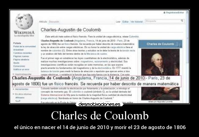 carteles charles coulomb wikipedia desmotivaciones