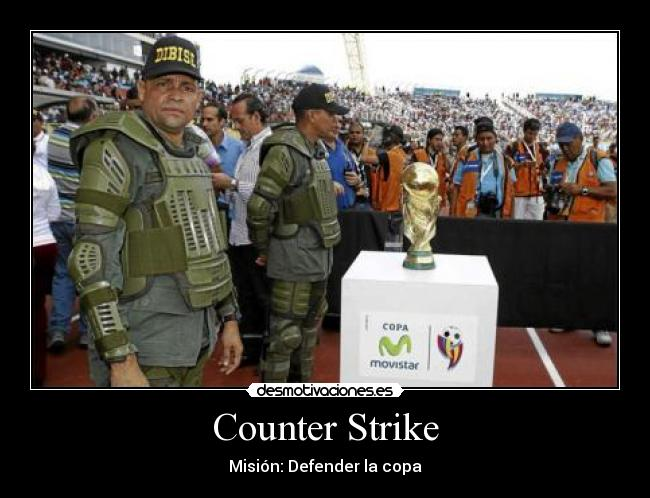 Counter Strike - Misión: Defender la copa