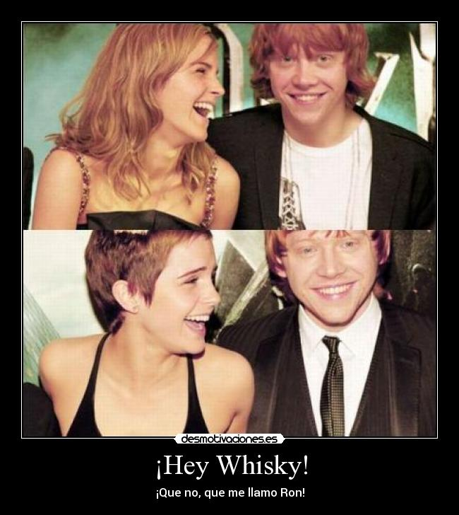 ¡Hey Whisky! -
