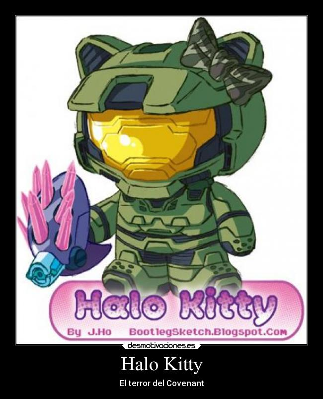 Halo Kitty - El terror del Covenant