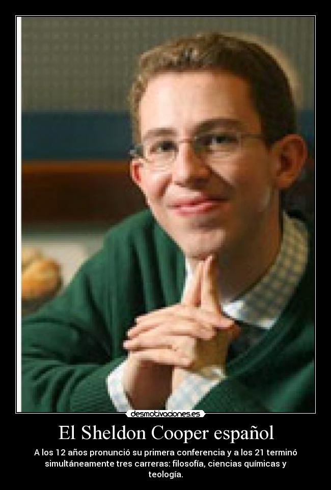 El Sheldon Cooper Español Desmotivaciones
