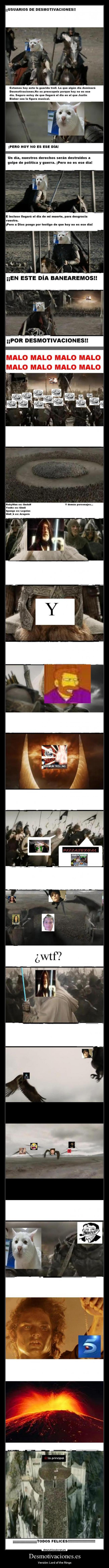 Desmotivaciones.es - Versión: Lord of the Rings