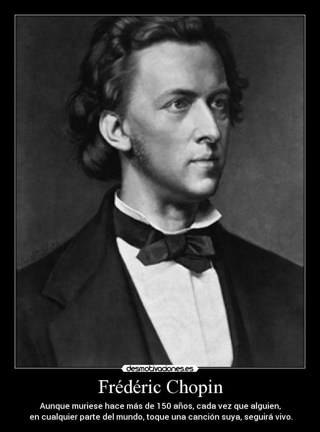 Frédéric Chopin Desmotivaciones