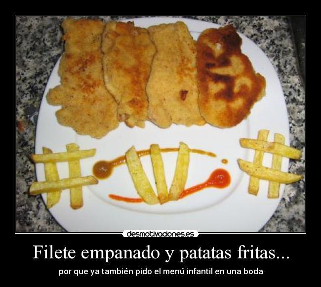 filete empanado: