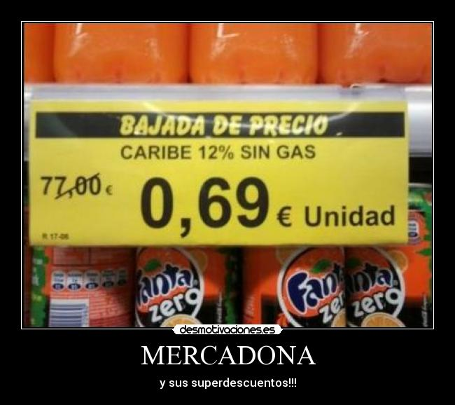 MERCADONA - y sus superdescuentos!!!
