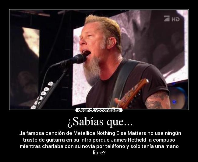 carteles metallica best song ever desmotivaciones