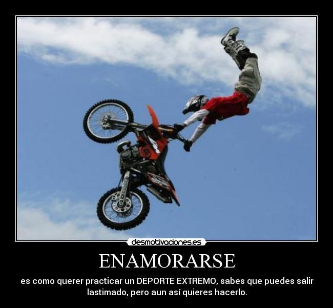 Motocross Con Frases De Amor Imagui