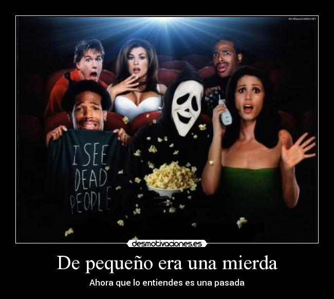 carteles scary movie desmotivacioneses joanalcanar scream desmotivaciones