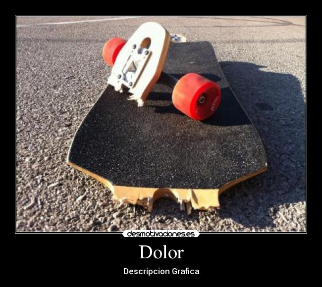 Dolor - Descripcion Grafica