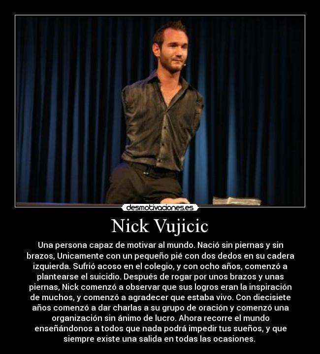 Populares Nick Vujicic | Desmotivaciones FB69