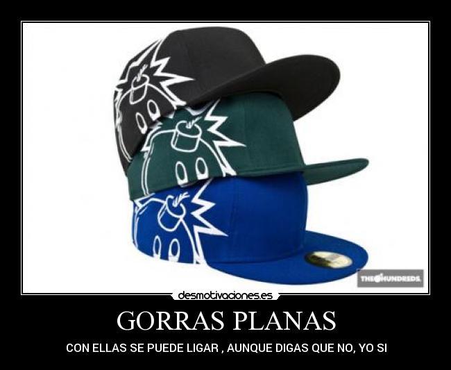 GORRAS PLANAS