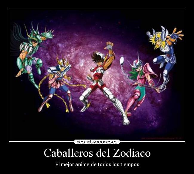 Carteles Caballeros Del Zodiaco Desmotivaciones