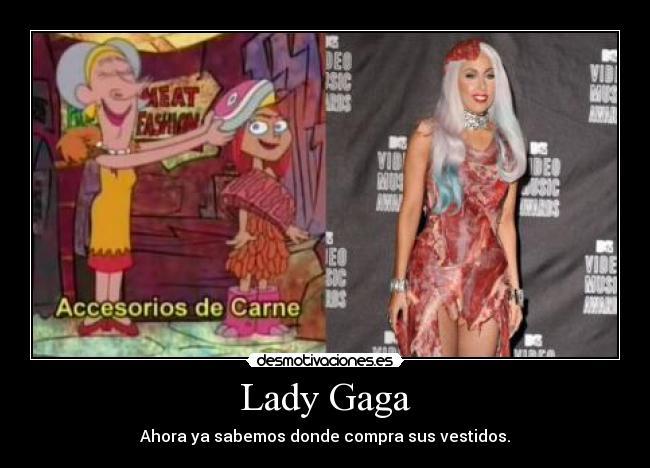 Lady Gaga Desmotivaciones