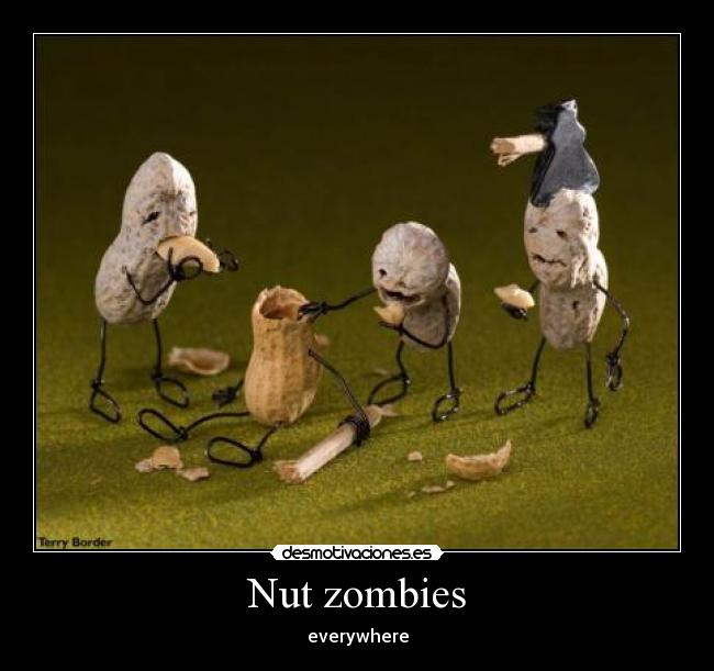 Nut zombies - everywhere
