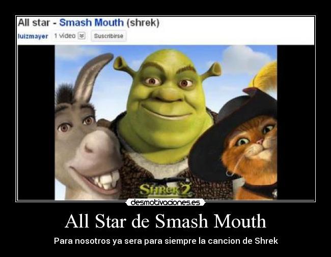 shrek smash mouth all star lyrics
