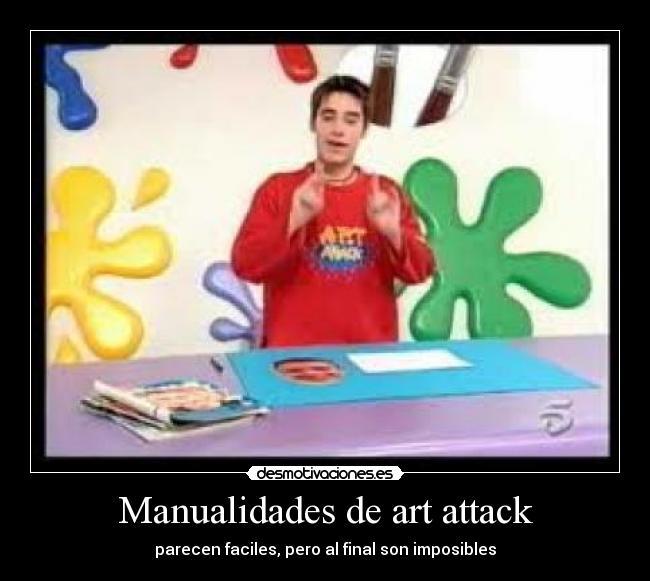 Art attack manualidades imagui - Manualidades art attack ...