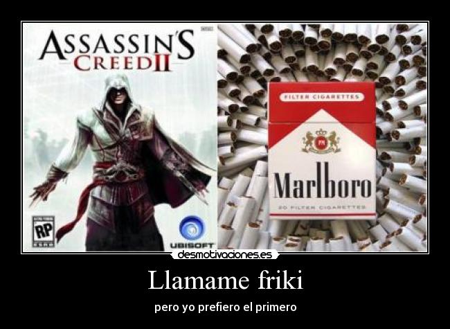carteles assassins creed desmotivaciones
