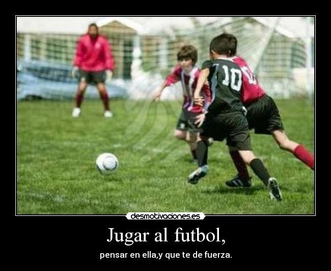 Jugar Al Futbol,