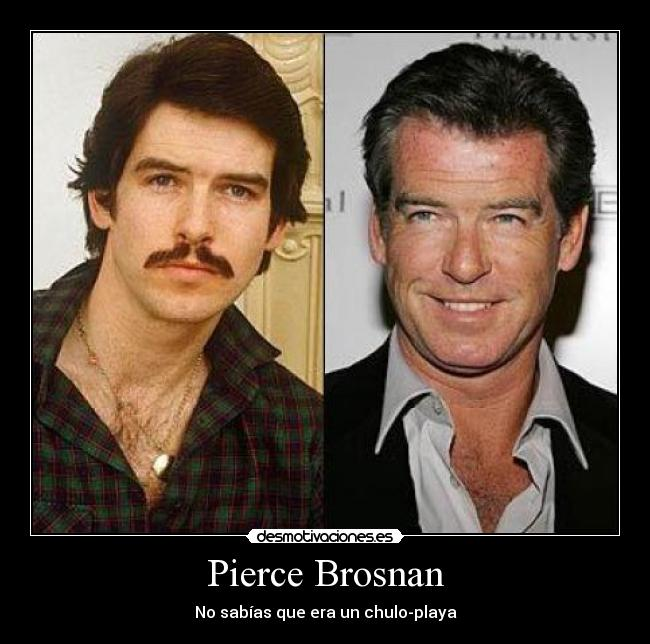 Pierce Brosnan - No sabías que era un chulo-playa