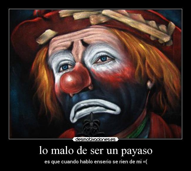 payaso malo ilustracion photoshop