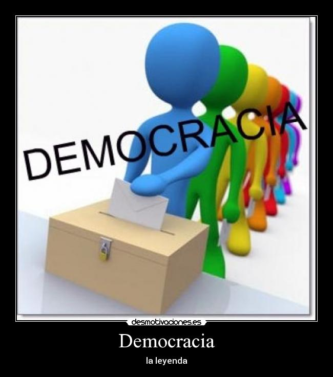 carteles democracia desmotivaciones