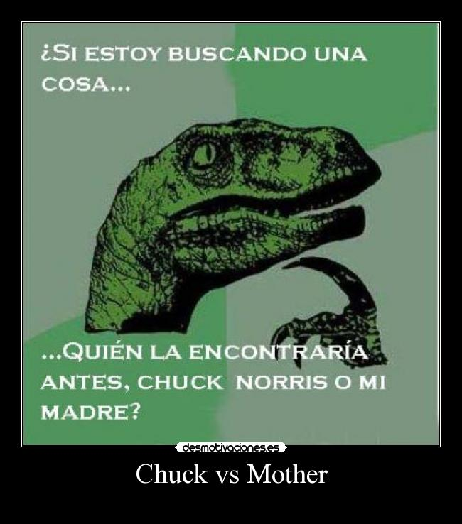 Chuck vs Mother -