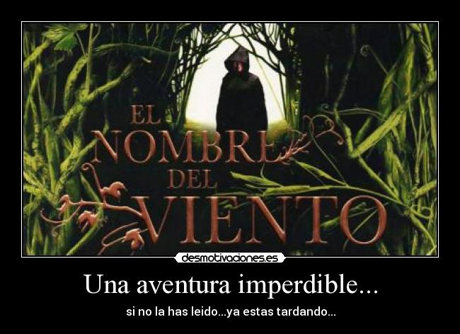 Una aventura imperdible... - si no la has leido...ya estas tardando...