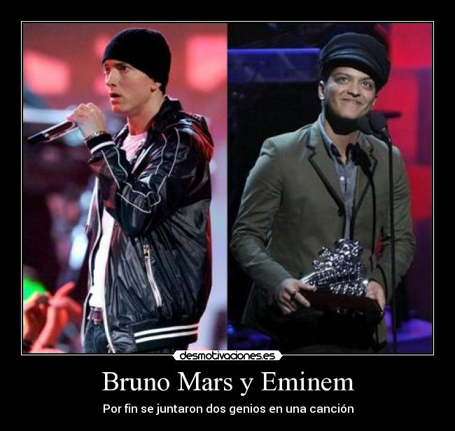 Bruno Hintern auf Eminem