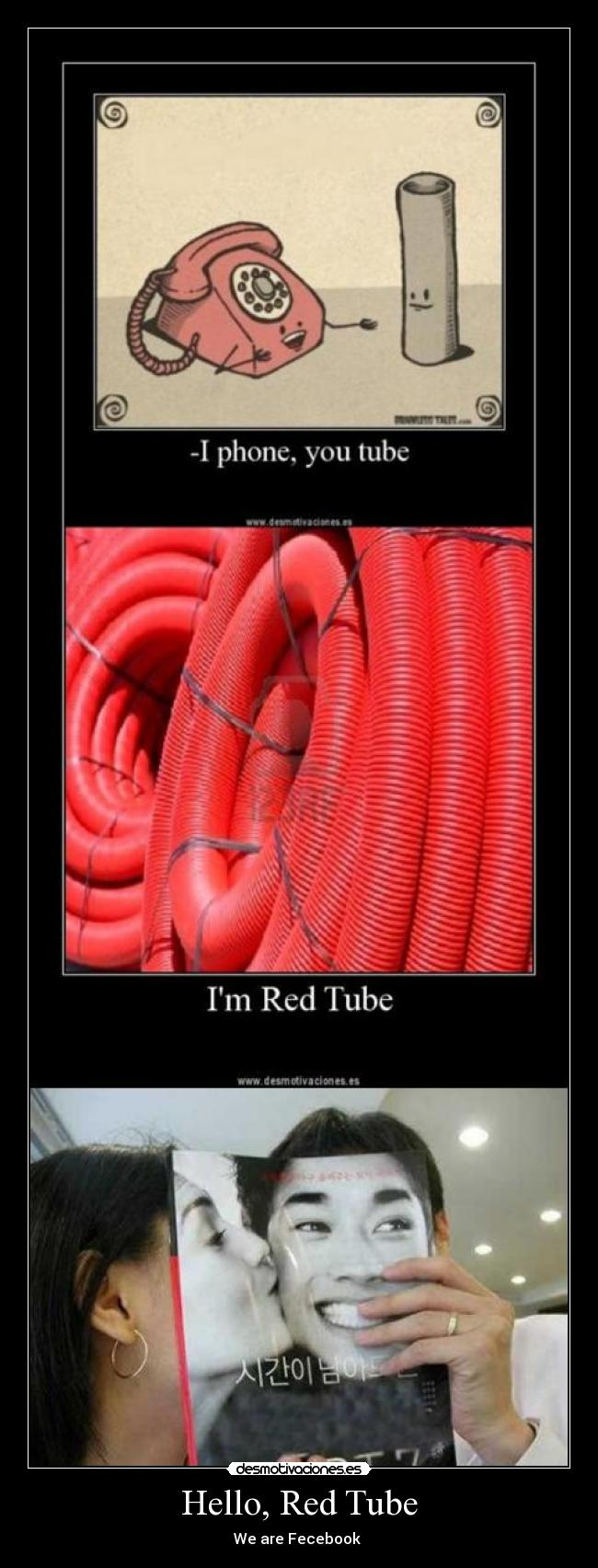Hello, Red Tube - We are Fecebook