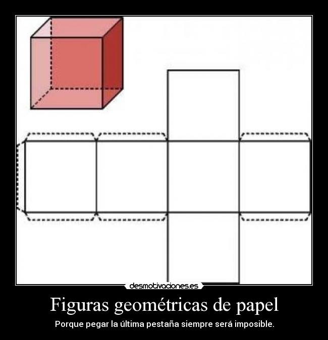 Figuras geom tricas de papel desmotivaciones - Figuras geometricas imposibles ...
