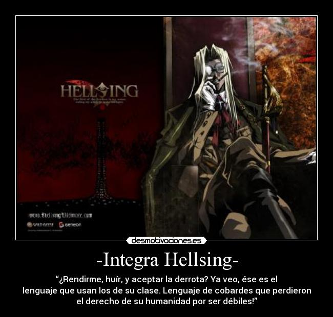 desmotivaciones hellsing