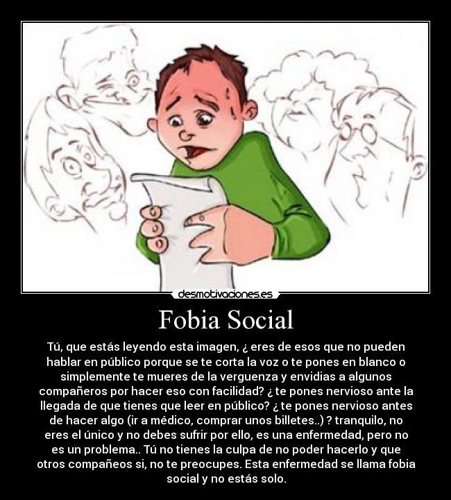fobia social com: