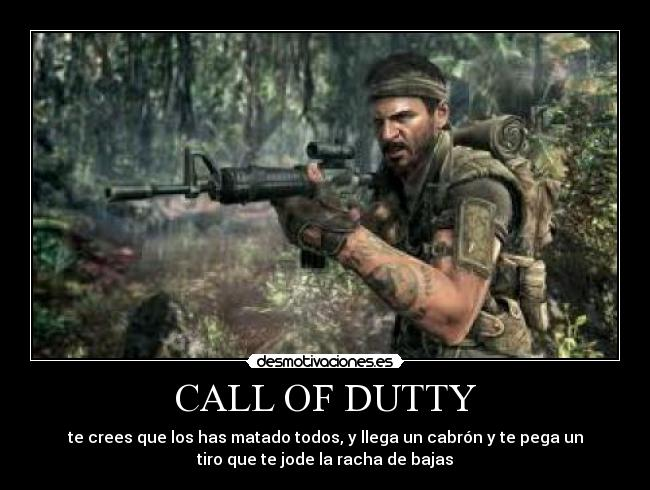 CALL OF DUTTY -