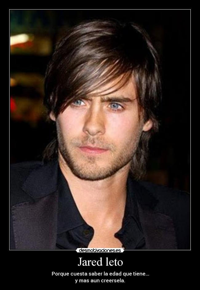 carteles jared leto seconds mars musica desmotivaciones