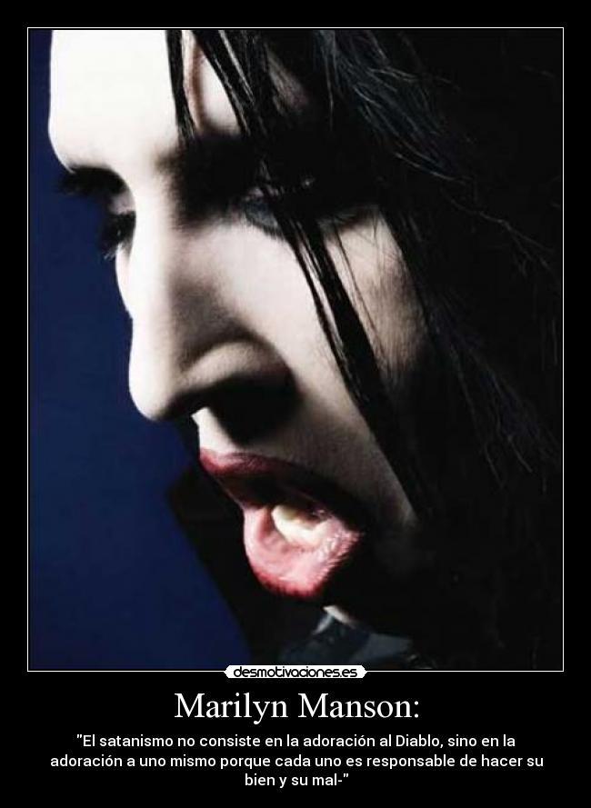 Marilyn Manson practica sexo hasta 10 veces al día y
