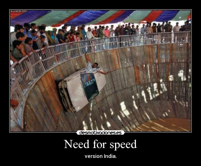 Need for speed - version India.