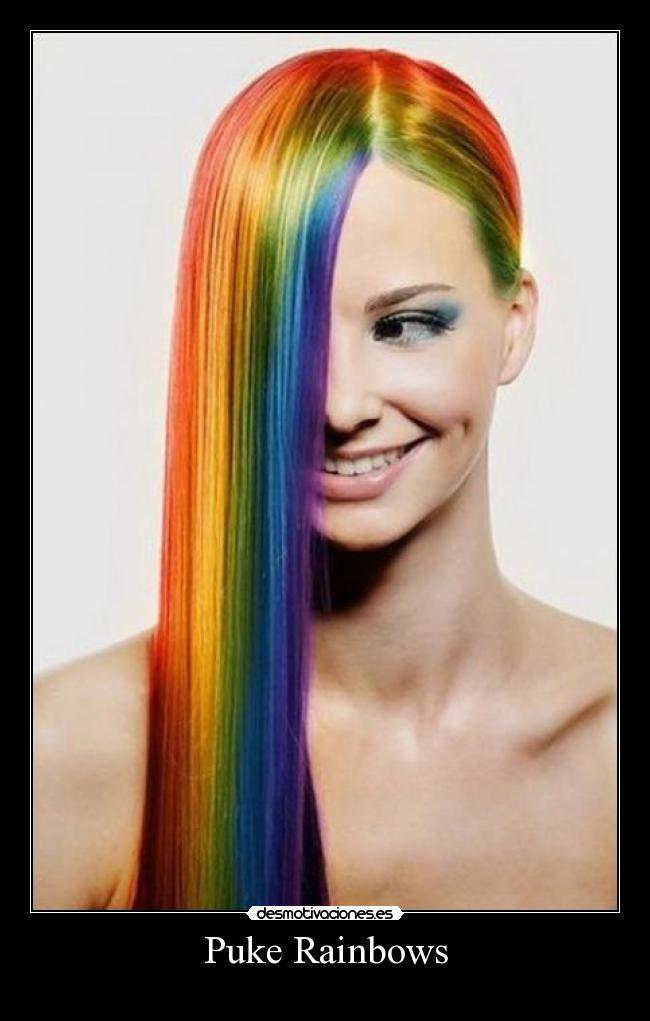 Puke Rainbows Desmotivaciones