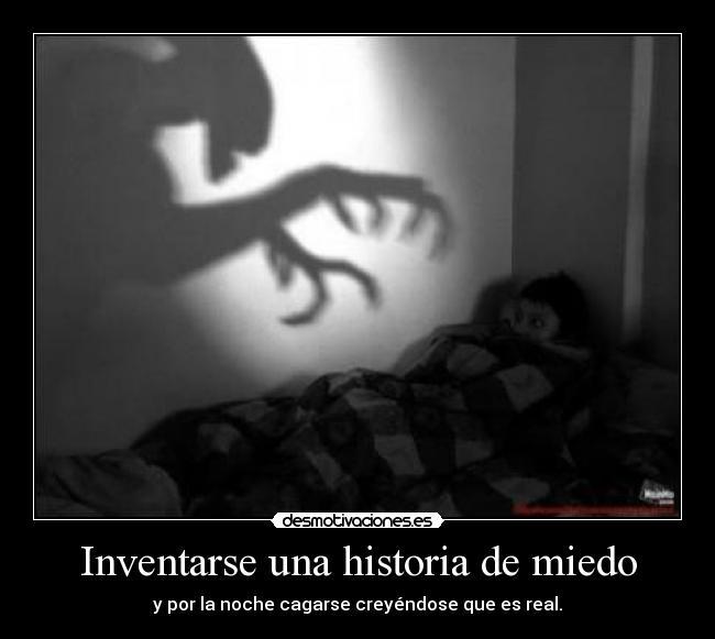 historia miedo: