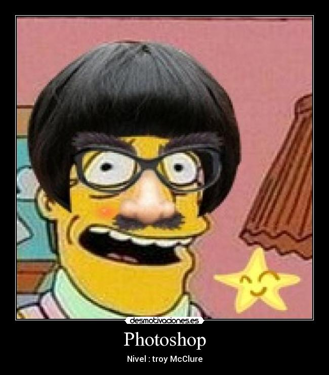 Photoshop - Nivel : troy McClure