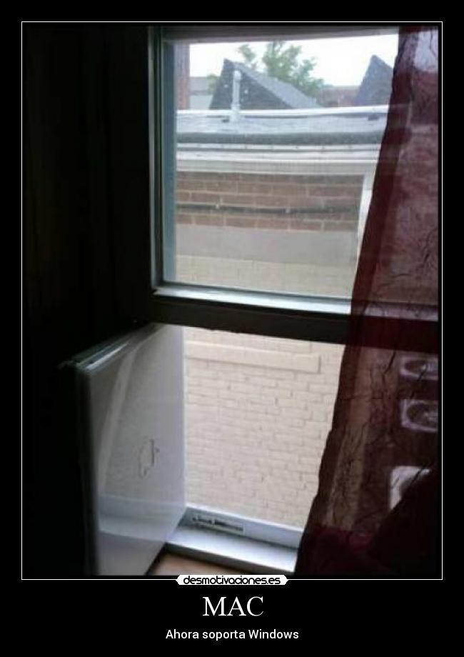 carteles moser humor mac ordenador windows ventana jajajajaja tetas desmotivaciones