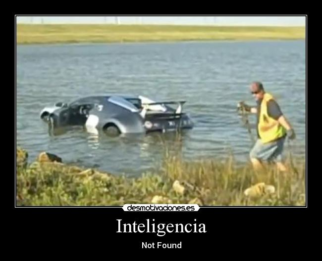 Inteligencia - Not Found