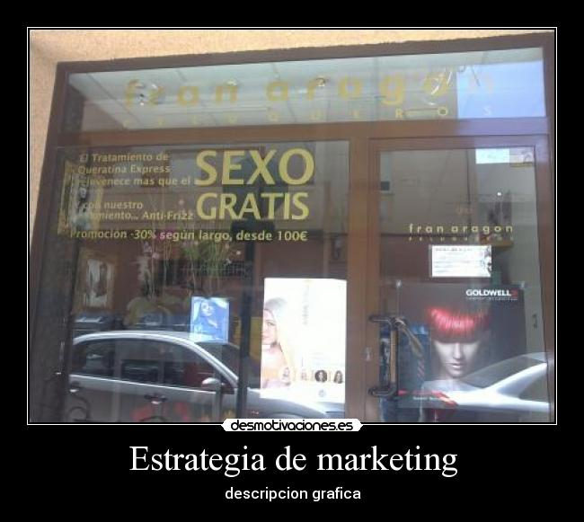 Estrategia de marketing - descripcion grafica