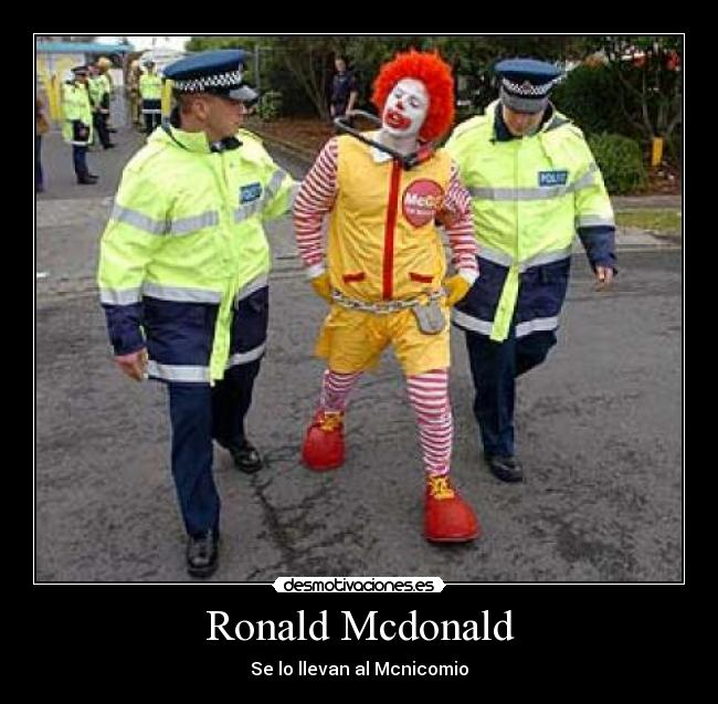 1084255634_extras_fotos_del_dia_0 ronald mcdonald meme about in spanish