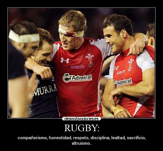 Porque el Rugby es mejor que le Futbol, pasa te explico!